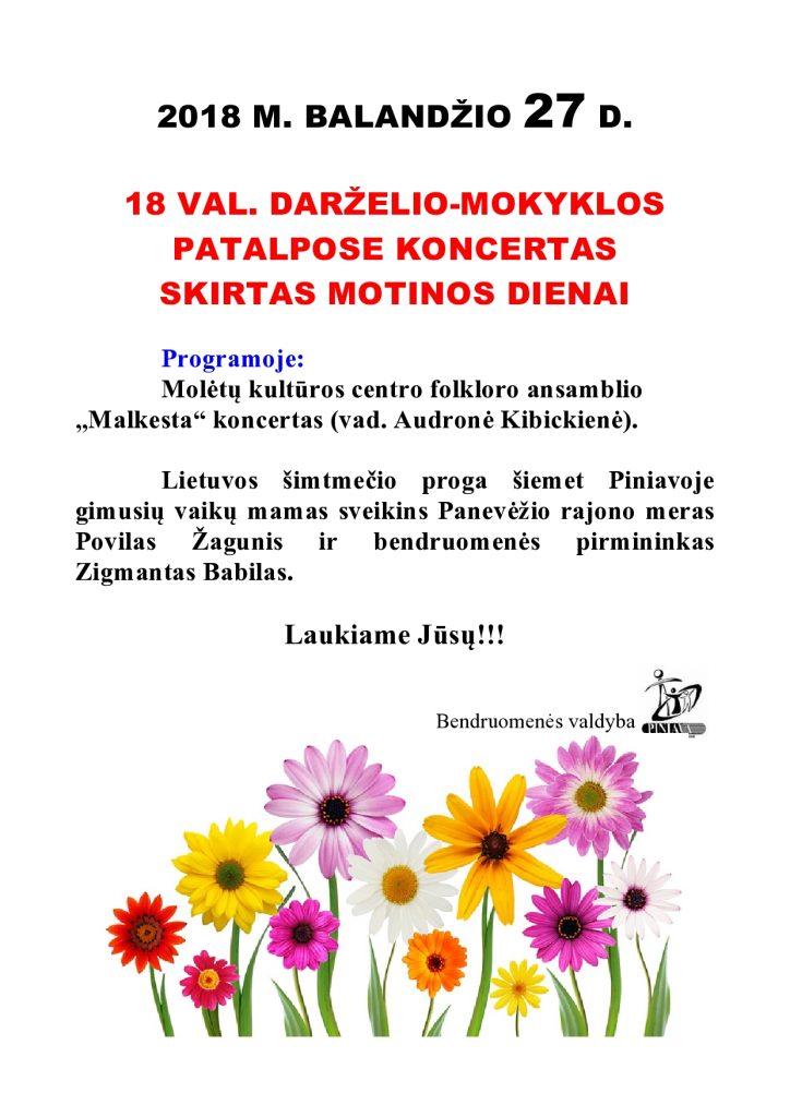 kONCERTAS SKIRTAS MOTINOS DIENAI 2018-page0001